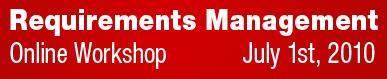 Polarion Requirements Online Workshop