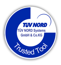 TüV Nord Trusted Tool logo
