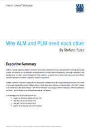 Whitepaper: Why ALM and PLM Need Each Other