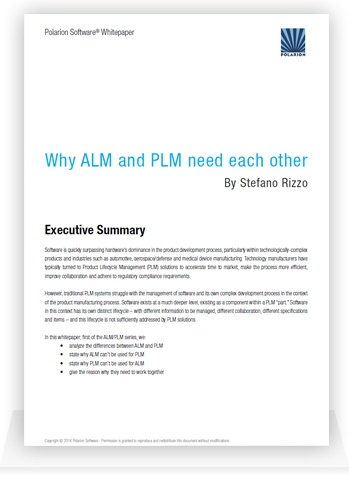 Free Whitepaper: Why ALM and PLM Need Each Other